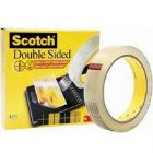 3M Scotch Double Sided Tape 25Mmx33M Pk6 (Pack of 6)